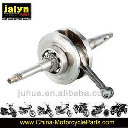 Steel Motorcycle Crankshaft For GY6-125