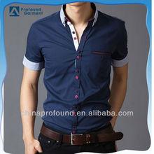 2015 Latest shirt designs for men wholesale mens dress shirts