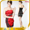 2014 Fashion Sexy Strapless Sequined Cocktail Dress