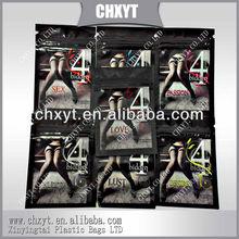 2013 hot sales zipper top Silk stockings bag