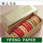 china factory cardboard mini custom handmade printed paper gift packaging macaron box wholesale