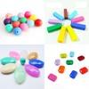 Multishaped Safe Food Grade Silicone Beads Wholesale