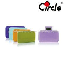 Plastic Platform Colorful Portable Bathroom Scale