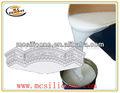de caucho de silicona del molde para la fabricación de yeso cornisa