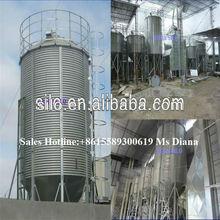 10t -1000t assembly / galvanized / corrugatd metal bulk feed steel silo for sale, storage steel silo, galvanized steel silo bins