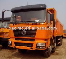 Prix nouvelle SHACMAN camion algérie F2000 40ton camion à benne