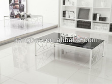 livingroom glass coffee table furniture with fancy legs