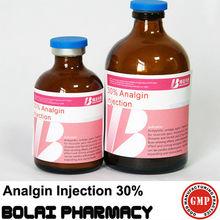 Analgin injection 30% pharmaceuticals china