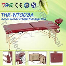 THR-WT003A Portable Wooden Folding Massage Table