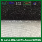 Twill weave woven fusible interlining for garment