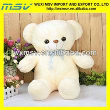 white teddy/plush teddy bear
