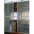 Decorativos de vidrio puerta del armario con como/nzs 2208:1996 en12150 y certificado