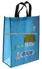 laminated photo print shopping bag