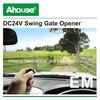 Ahouse DC 24V Automatic Swing Gate Operator CE Solar System,Easy Install(EM)