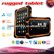 """2014 popular tablet IP65 Android 7"""" dual camera rugged tablet PC M76 Bluetooth Wifi GPS 3G vatop cheap rugged tablet PC"""