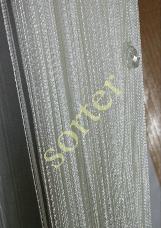 favoloso tende string bianco con cristallo perline colorate-Tenda-Id prodotto:1194990561-italian ...