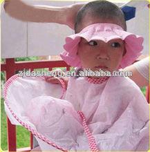 pink baby shower cap/Hot Selling Foam Waterproof EVA Baby Shower Cap