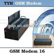 16 channels wavecom GSM Modem,tc35 gsm modem