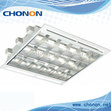 T8 grille lights with air slot for exhibition room