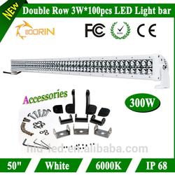 IP67 waterproof 36w, 72w, 120w, 180w, 240w, 300w off road led light bar