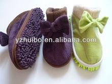 2013 cheap colorful pe slipper
