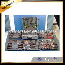 new 2014 manufacturer China wholesale alibaba supplier 183pcs sockets hand tool aluminium box tool set tool box