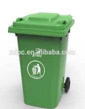 garbage bin, waste container 240L EN840,Plastic dustbin