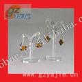 Modificado para requisitos particulares de acrílico granos de la joyería soporte de exhibición