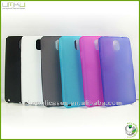 ultrathin & environmental transparent matt tpu case for samsung galaxy note3