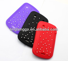 wholesale diamond decorated mobile phone cover for bb9900