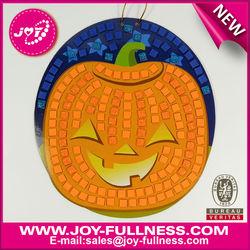 kids educational toy & foam pumpkin mosaic art craft kits