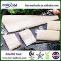 Abadejo de alaska congelado/bacalao del atlántico/del pacífico filete de bacalao
