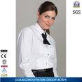 Cómodo ajuste fino de camarera de hotel hww-836 uniforme uniforme del hotel para el diseño de camarera