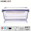 alta borossilicato transparência caixa de almoço