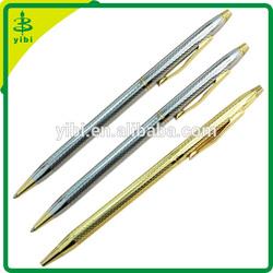 JD-C941 hot-selling slim twist metal ballpoint hotel advertising pen