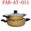 alumínio grande cerâmica potes de cozinha para venda