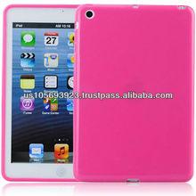 IMPRUE For Ipad MINI Soft TPU Case ,Solid Color TPU Cover Skin For Ipad MINI 8 Color