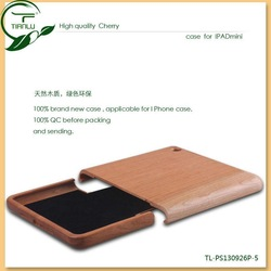 New Product Green Bamboo and Wood for iPad Mini Case, Bamboo and Wood Case for iPad Mini
