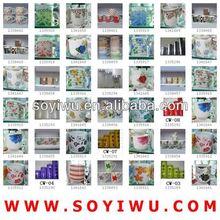 Toptan plastik çay bardak ve tabaklar Fincan için% Toplu toptan ve kupa