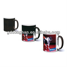 Factory direct advertising door gift novelty products eco friendly wholesale porcelain color changing mug hot cold