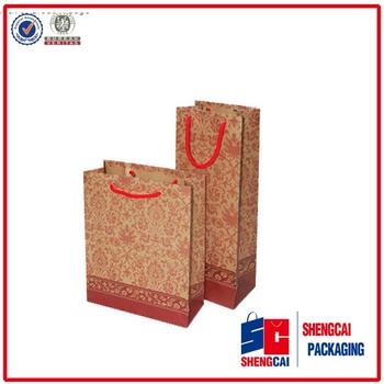 customize various size handbags bags food paper bag, shopping package bag