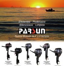 4-stroke 5 - 40hp outboard motor (CE, EPA, ISO approved)