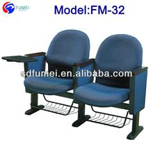 Fm-32 kommerziellen klappbarer konferenzstuhl mit versenkbaren tisch
