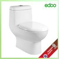 Dubai design Durable Use water closet ceramic s-trap 300/400mm roughing in bathroom toilet bowl Eddy siphon One piece toilet