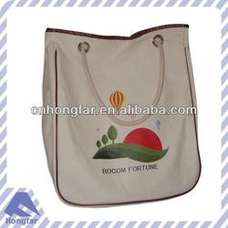 cotton printing canvas tote bag