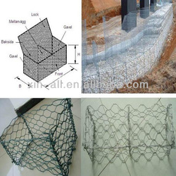 round welded gabion box / cost of gabion baskets
