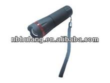 1 Watt zoom LED Plastice flashlight aaa battery led emergency light