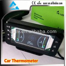 micro pc control car thermometer