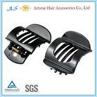 black plastic hair claw clips