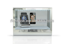 (On Sale!) 12.1'' portable advertising display light box for mobiles/perfumes/wines etc